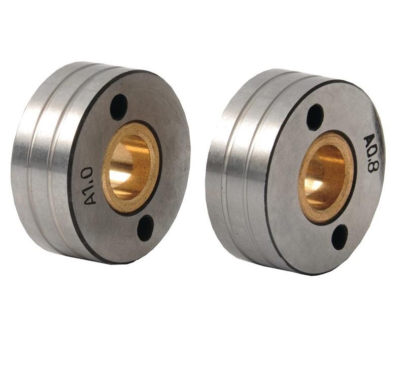 Ролики механизма подачи проволоки Ø 38 мм., 0,8-1,0 мм. для алюминия
