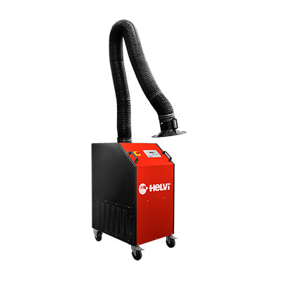 MFE HD — MOBILE FUME EXTRACTOR HEAVY DUTY + ARMOFLEX HOSE